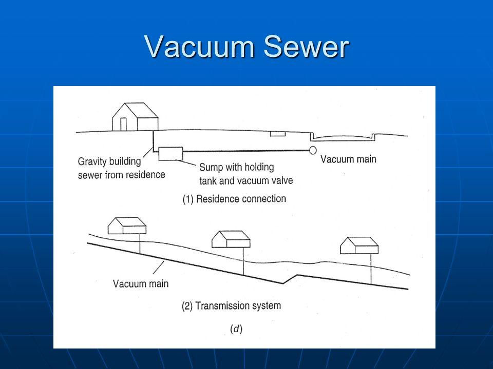 Vacuum Sewer