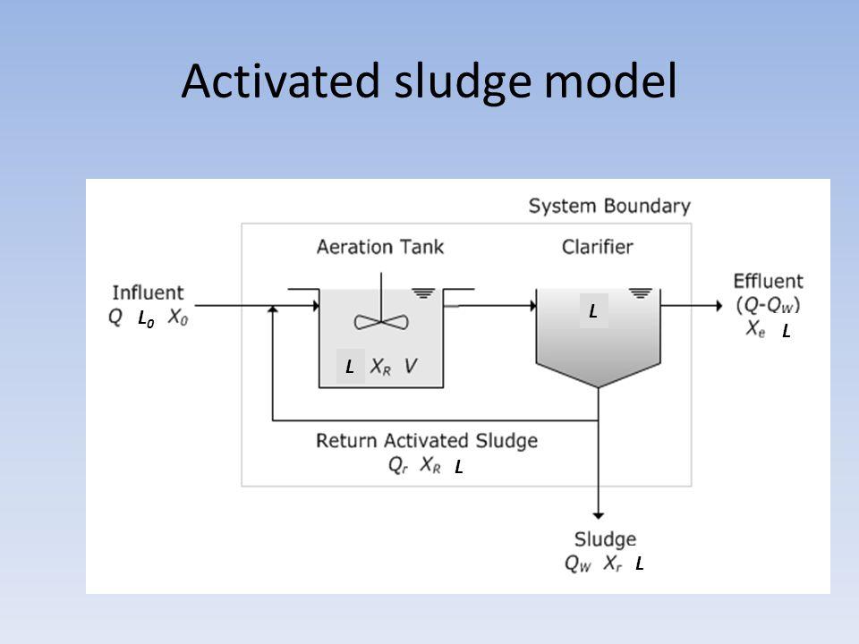 Activated sludge model L L0L0 L L L L