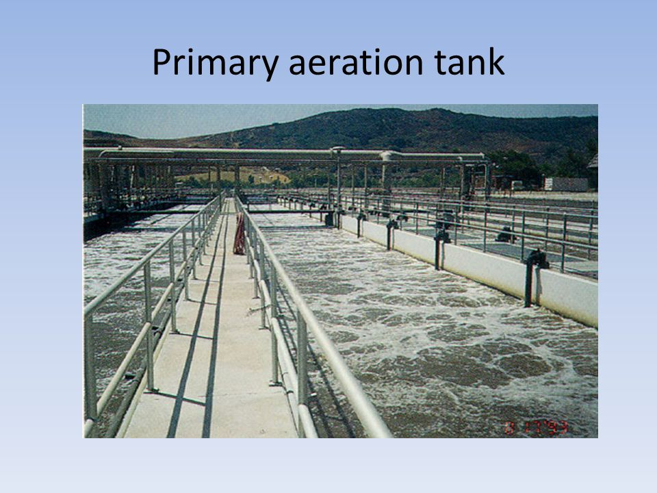 Primary aeration tank
