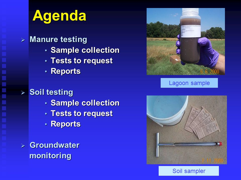 Why Test Soil and Manure.