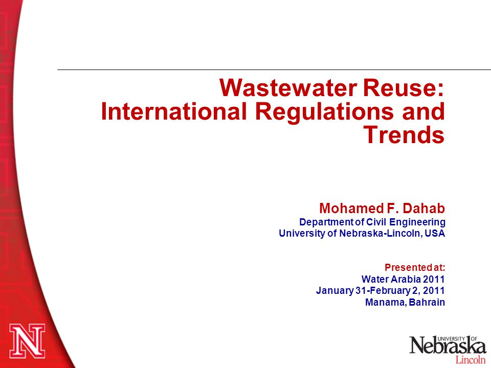 What is Wastewater Reuse.