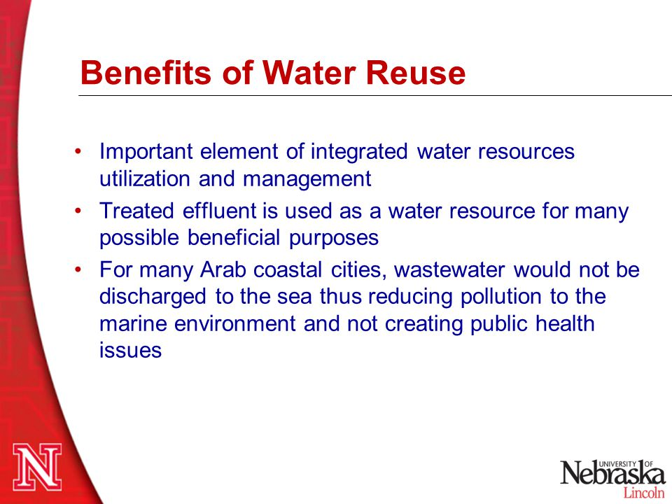 Wastewater Reuse in the U.S.