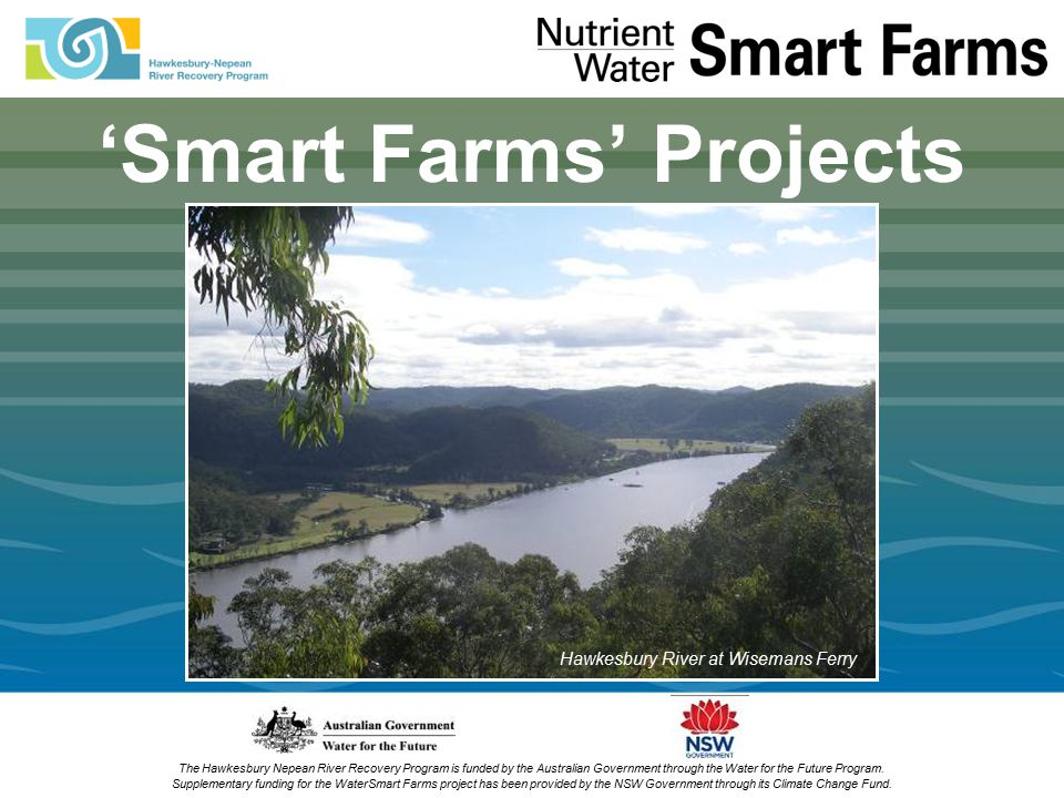 The Hawkesbury Nepean River Recovery Program is funded by the Australian Government through the Water for the Future Program.