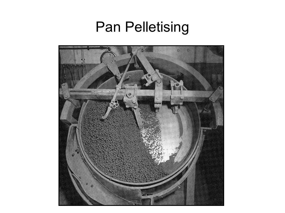 Pan Pelletising