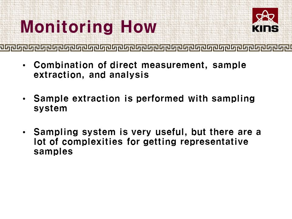 Sampling System Generic Sampling System (from ANSI N13.1-1999)