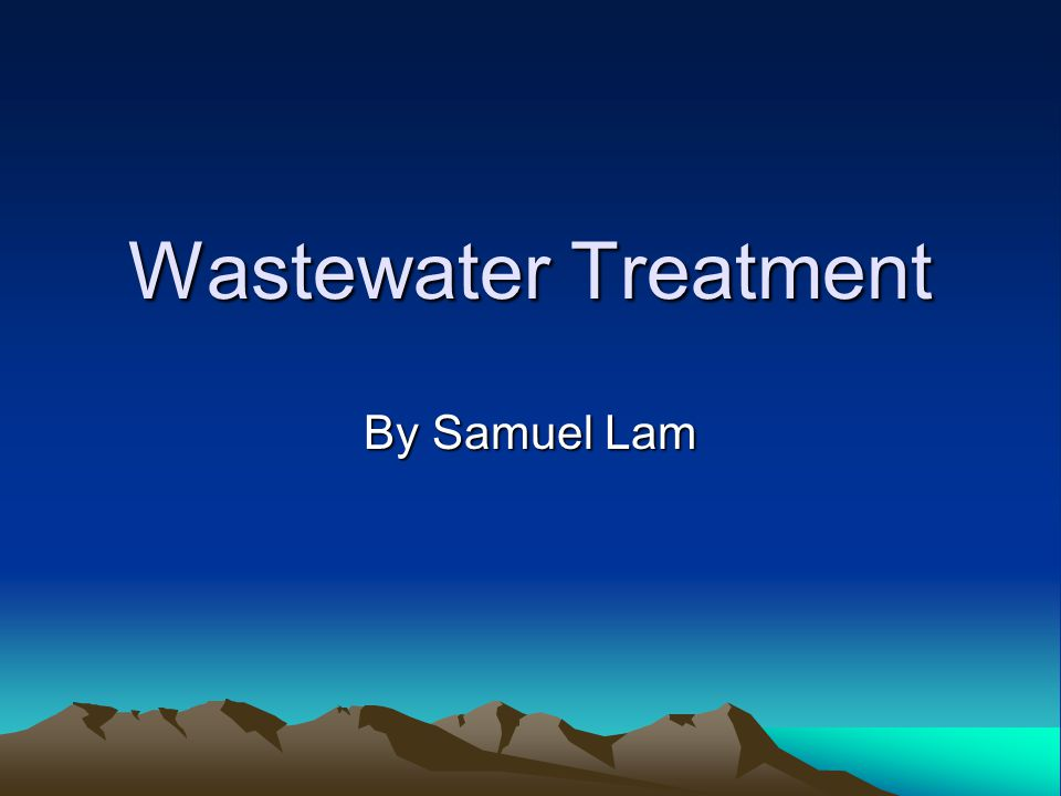 What is wastewater treatment Usually refer to sewage treatment, or domestic wastewater treatment process of removing contaminants from wastewater, both runoff and domestic