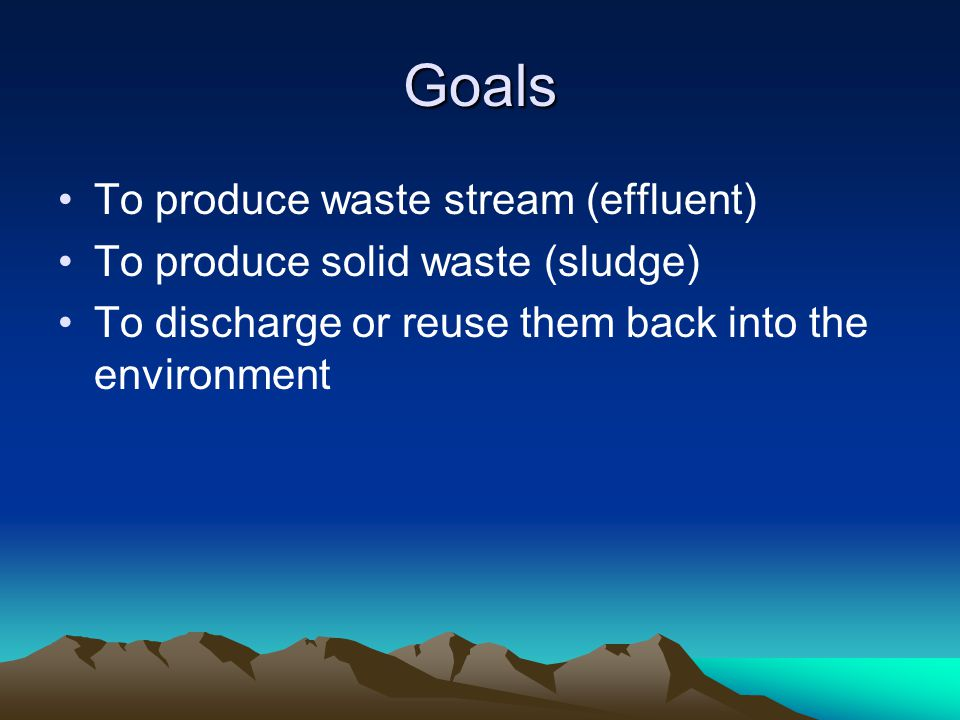 Where does wastewater come from.