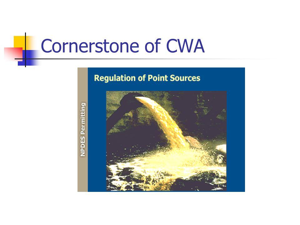 Cornerstone of CWA