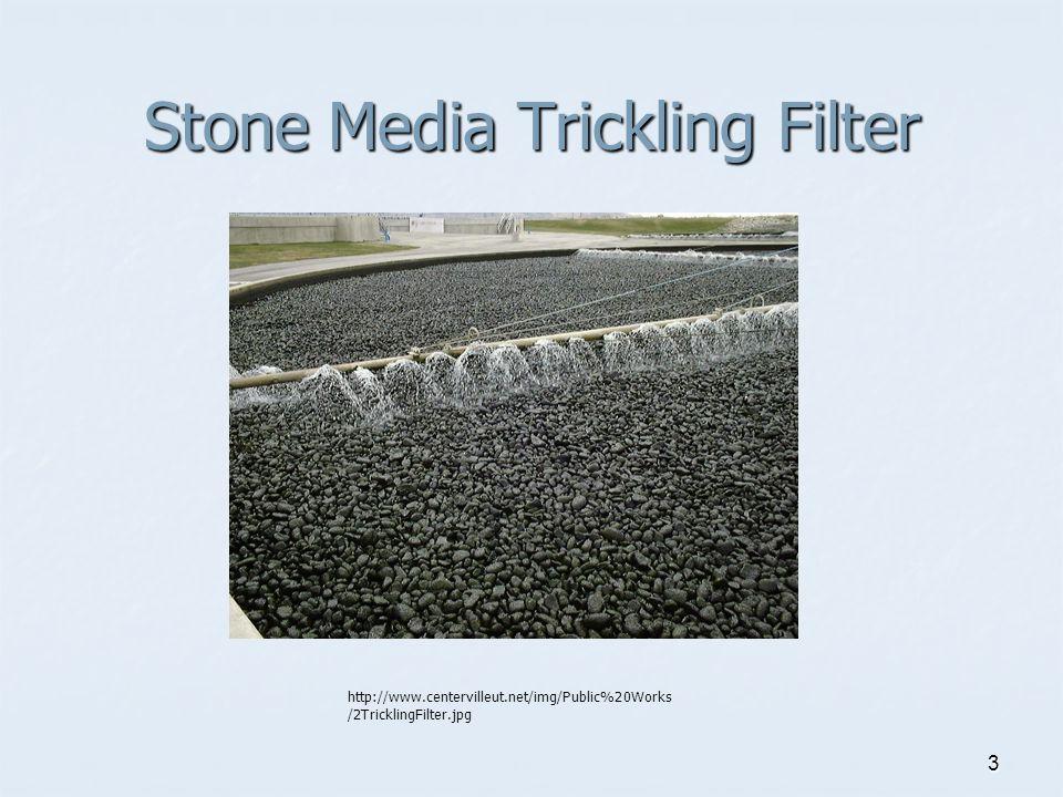 3 Stone Media Trickling Filter http://www.centervilleut.net/img/Public%20Works /2TricklingFilter.jpg