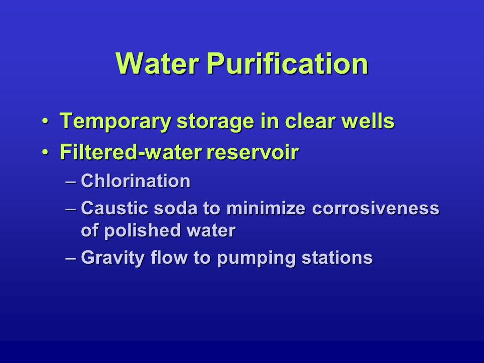 Wastewater Treatment Conventional Sewage TreatmentConventional Sewage Treatment –Processes TreatmentTreatment –Function To speed up natural processes by which water purifies itselfTo speed up natural processes by which water purifies itself DO is the key!DO is the key!