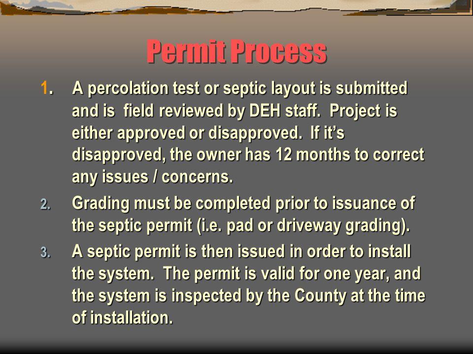 Permit Process.