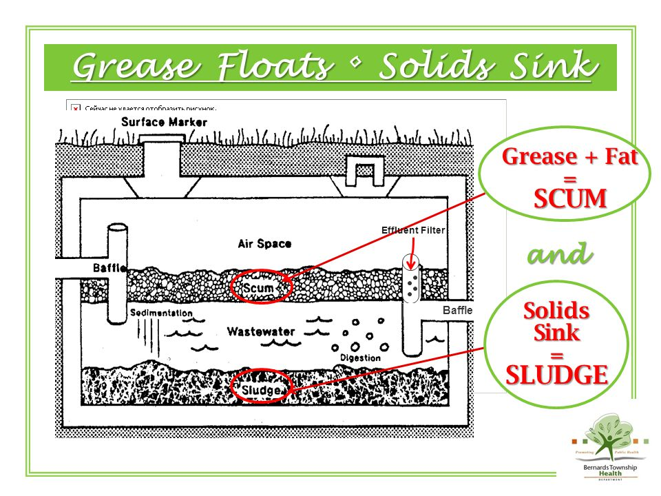 Wastewater Breaks Down Scum, into Sludge Sludge.
