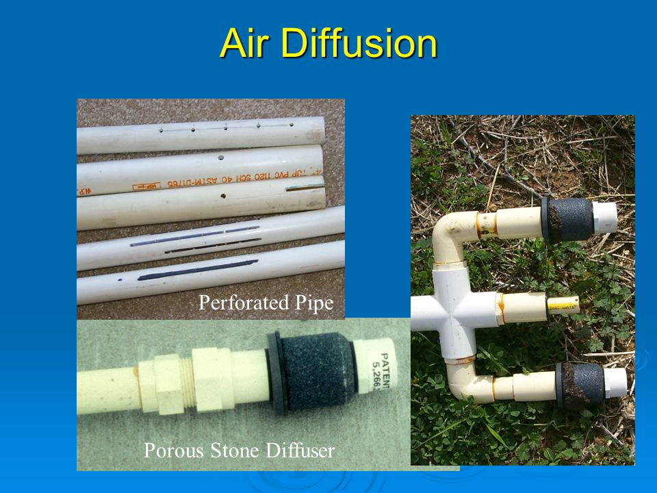 Air Diffusion Porous Stone Diffuser Perforated Pipe