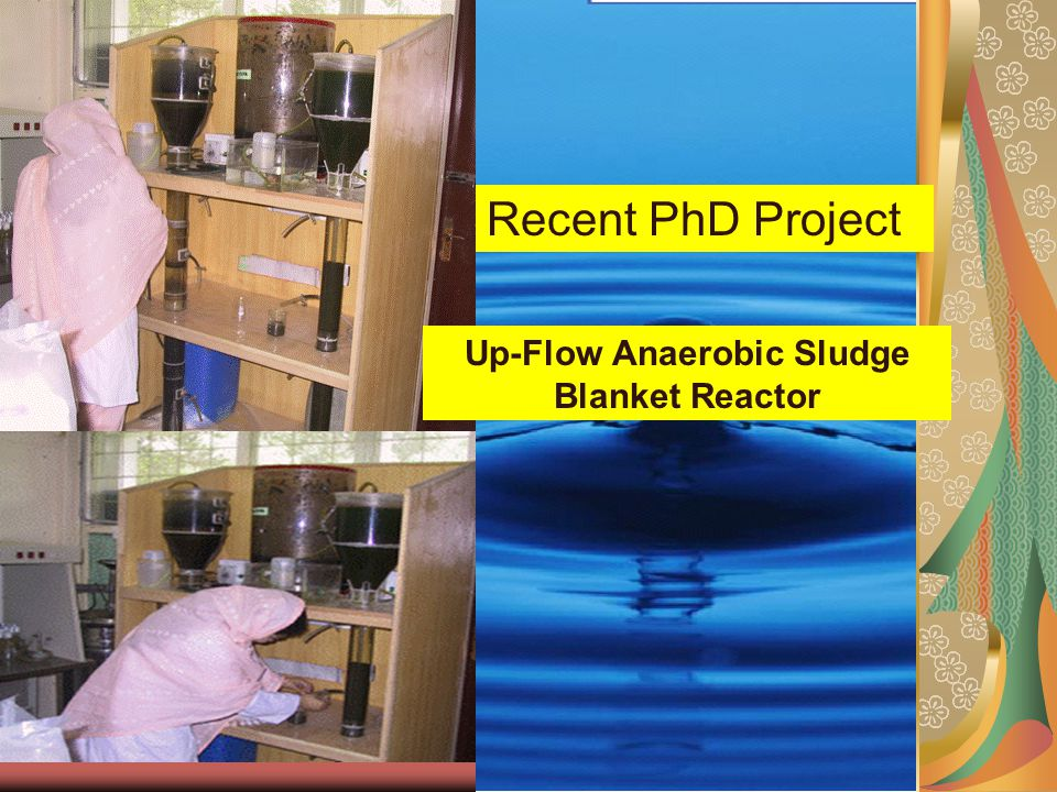Up-Flow Anaerobic Sludge Blanket Reactor Recent PhD Project