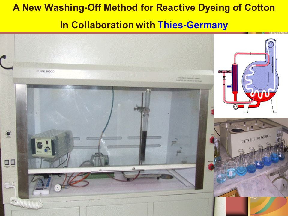 A New Washing-Off Method for Reactive Dyeing of Cotton In Collaboration with Thies-Germany