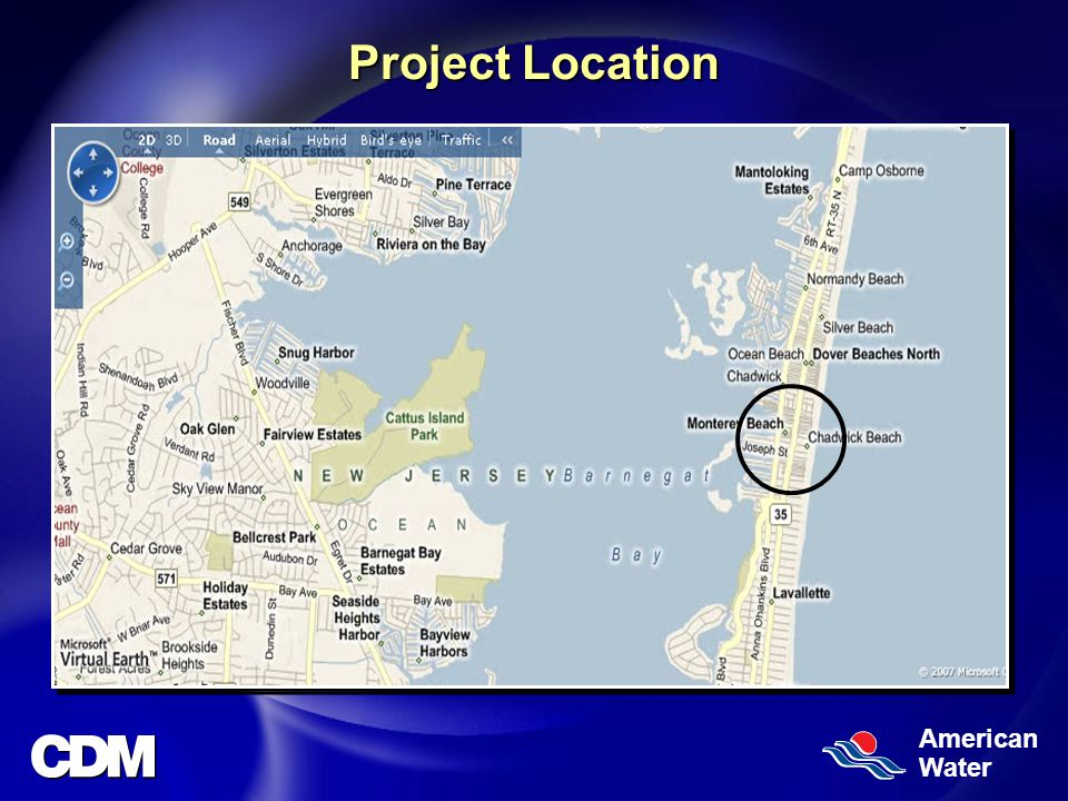 American Water Project Location