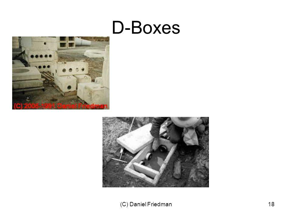 (C) Daniel Friedman18 D-Boxes