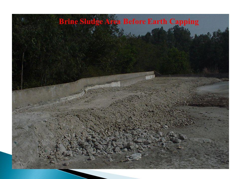 Brine Sludge Area Before Earth Capping
