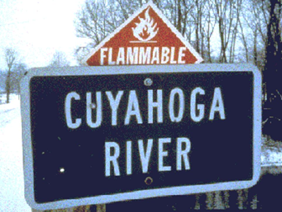 FABLES OF THE CUYAHOGA: RECONSTRUCTING A HISTORY OF ENVIRONMENTAL PROTECTION Jonathan H.