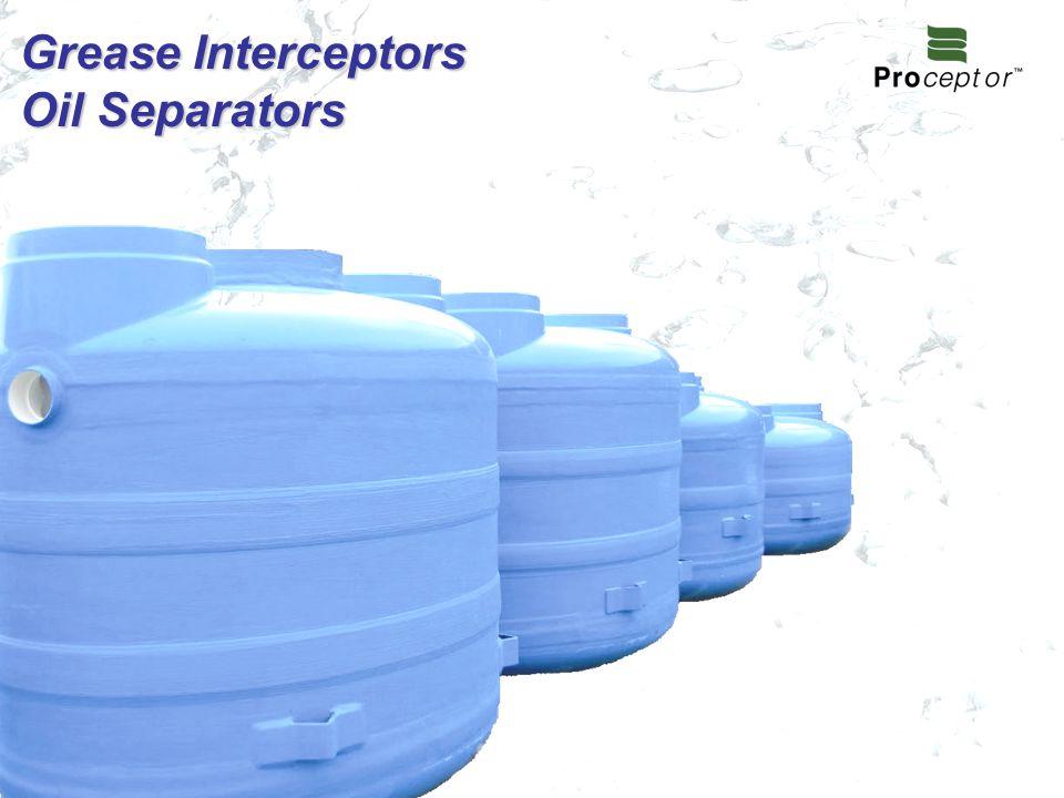 Grease Interceptors Oil Separators