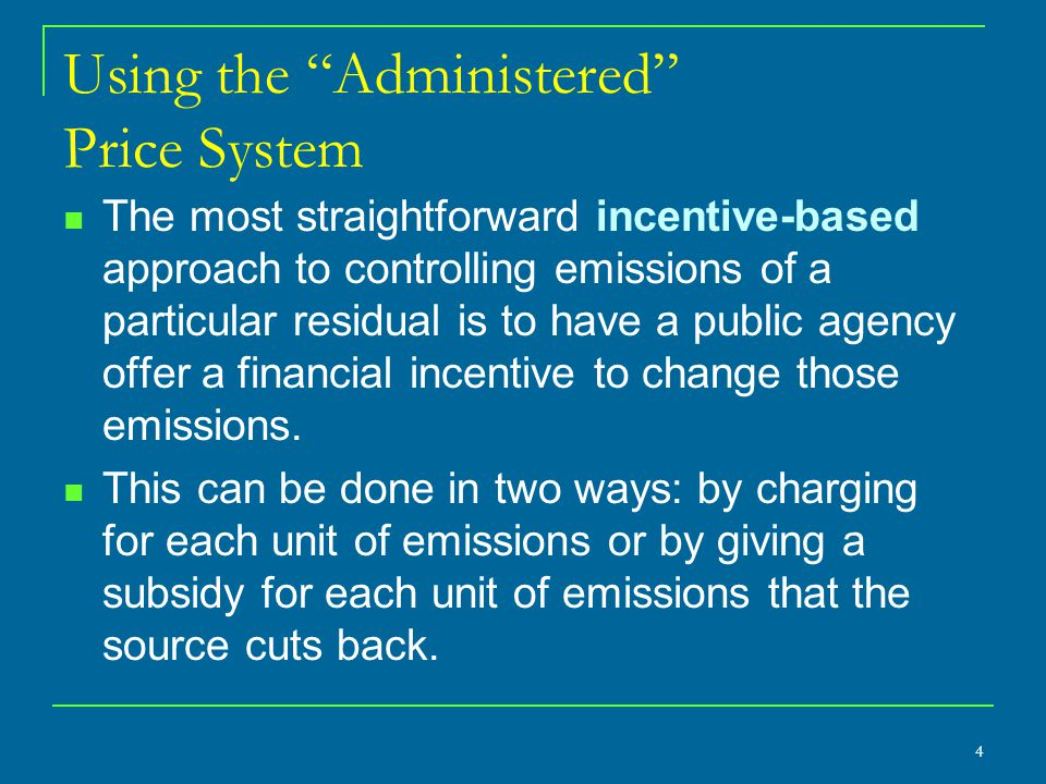 A Drawback of Emission Charges Administrators will be uncertain about how much emission reduction will ensue, for that depends on how sources respond to the tax.