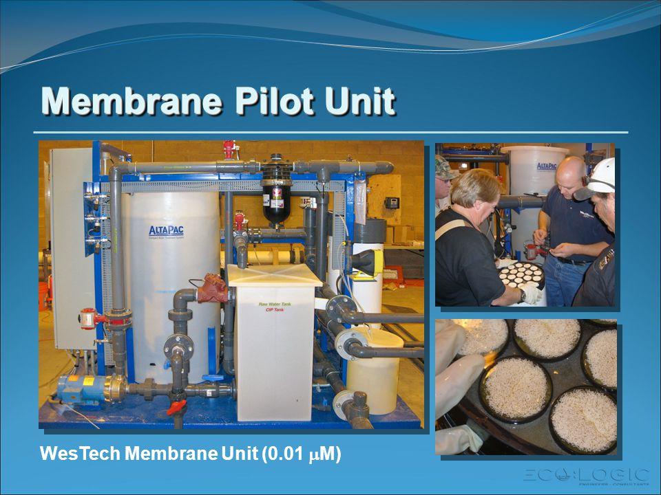 Membrane Pilot Unit WesTech Membrane Unit (0.01  M)