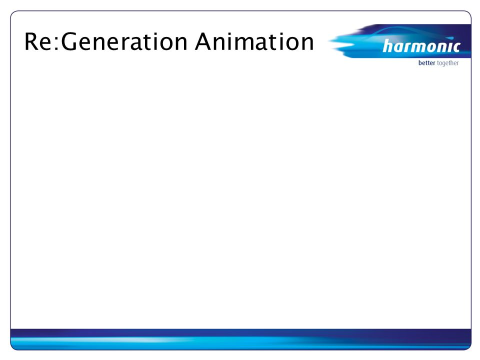 Re:Generation Animation