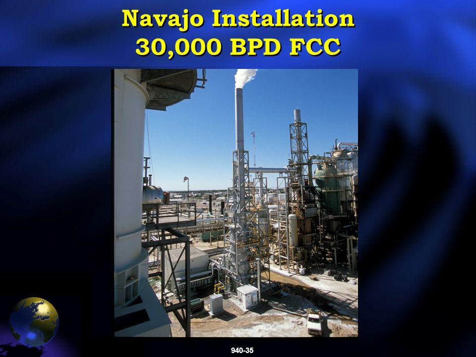 940-35 Navajo Installation 30,000 BPD FCC