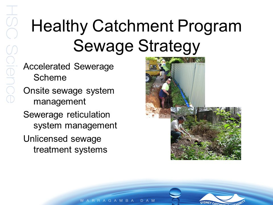 Healthy Catchment Program Riparian Strategy Healthy vegetated riparian zones reduce nutrients entering storages Collaboration with stakeholders to implement on- ground works