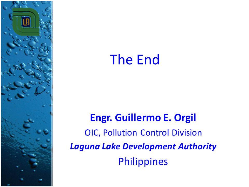 The End Engr.Guillermo E.