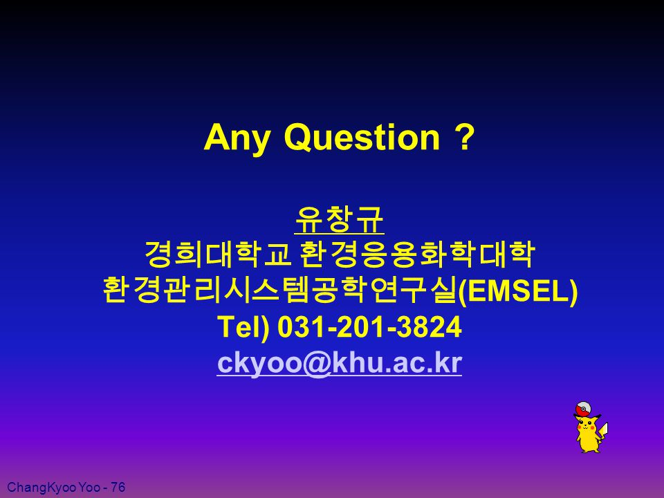 ChangKyoo Yoo - 76 Any Question .