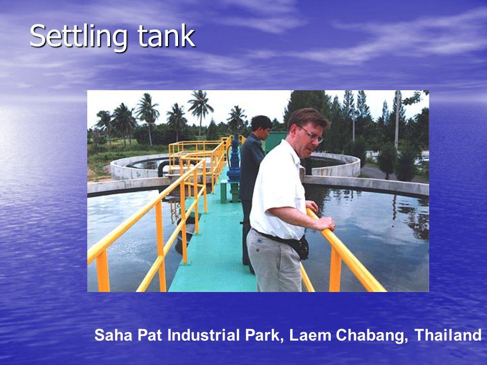 Settling tank Saha Pat Industrial Park, Laem Chabang, Thailand