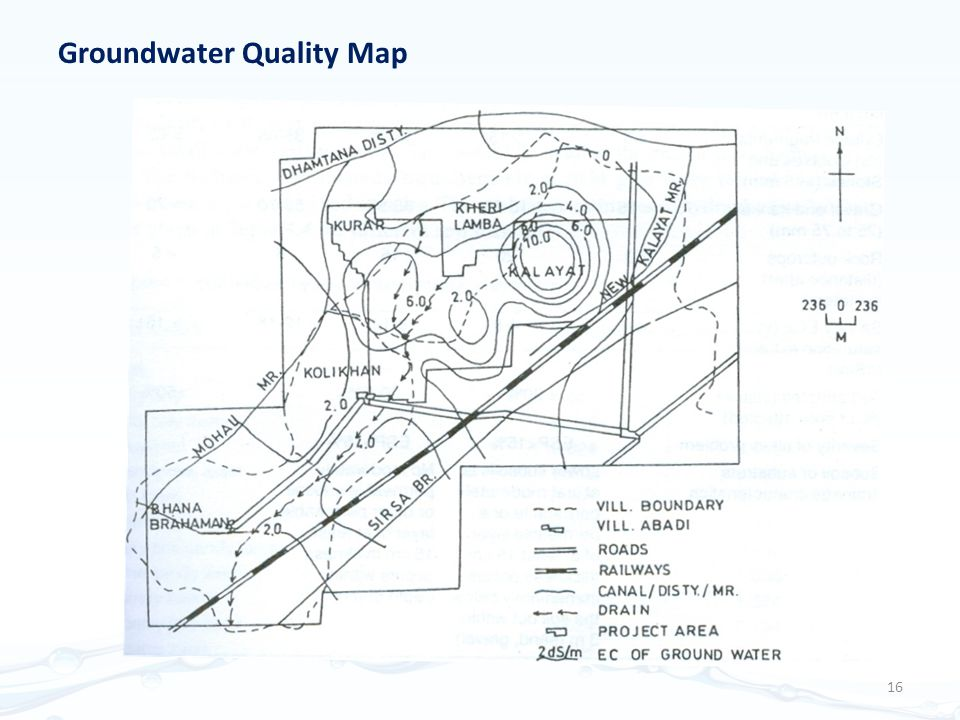 Groundwater Quality Map 16