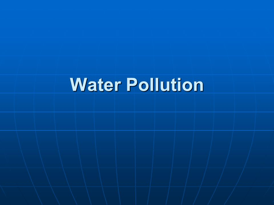 Solutions Water Pollution Prevent groundwater contamination Greatly reduce nonpoint runoff Reuse treated wastewater for irrigation Find substitutes for toxic pollutants Work with nature to treat sewage Practice four R s of resource use (refuse, reduce, recycle, reuse) Reduce resource waste Reduce air pollution Reduce poverty Reduce birth rates What Can You Do.