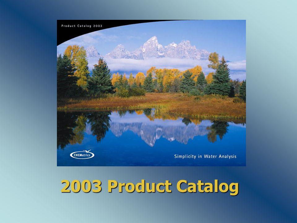 2003 Product Catalog