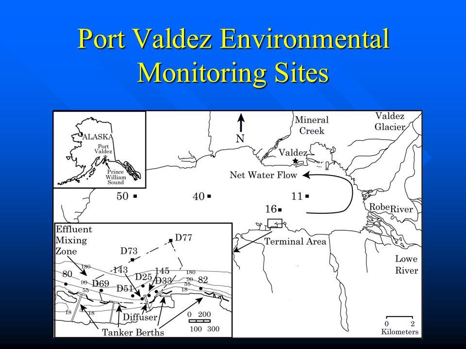 Port Valdez Environmental Monitoring Sites