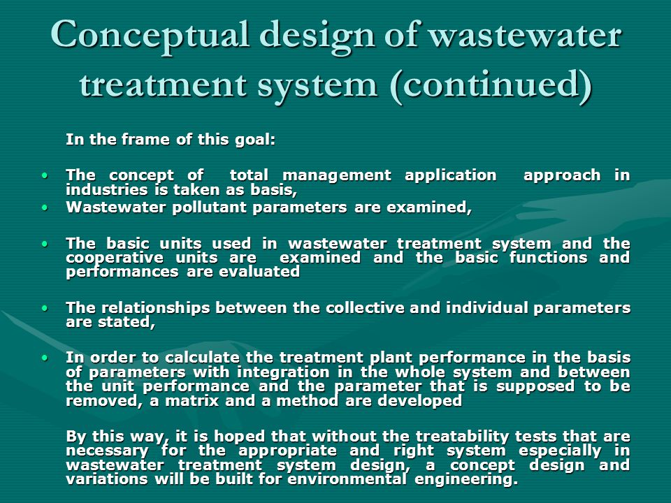 TOTAL MANAGMENT APPLICATION IN INDUSTRIES Reasons for implemented a waste monitoring program include: 1.