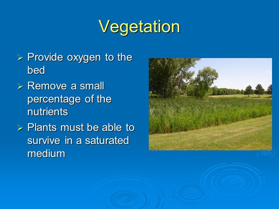 7.Additional tasks for recirculating wetlands (cont.) d.