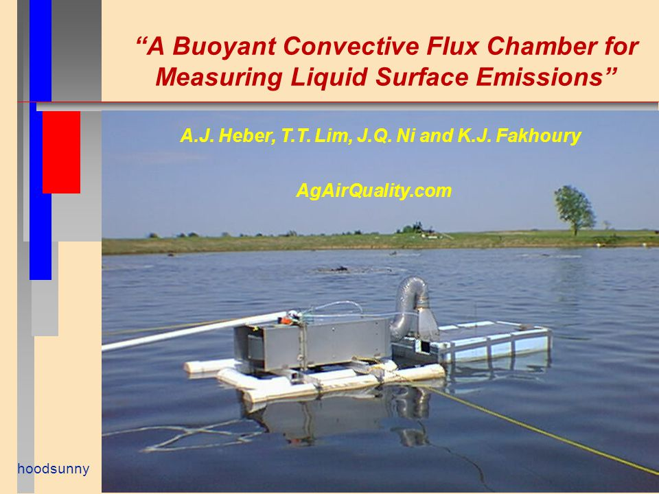 A Buoyant Convective Flux Chamber for Measuring Liquid Surface Emissions hoodsunny A.J.