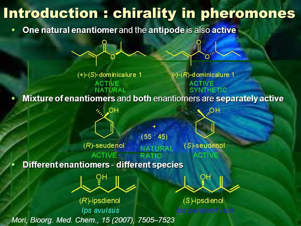 Aphthona flava male pheromone '(R)-ar-himachalene is dextrorotatory in hexane, while levorotatory in chloroform' Mori, Tetrahedron: Asymmetry, 16 (2005), 685–692