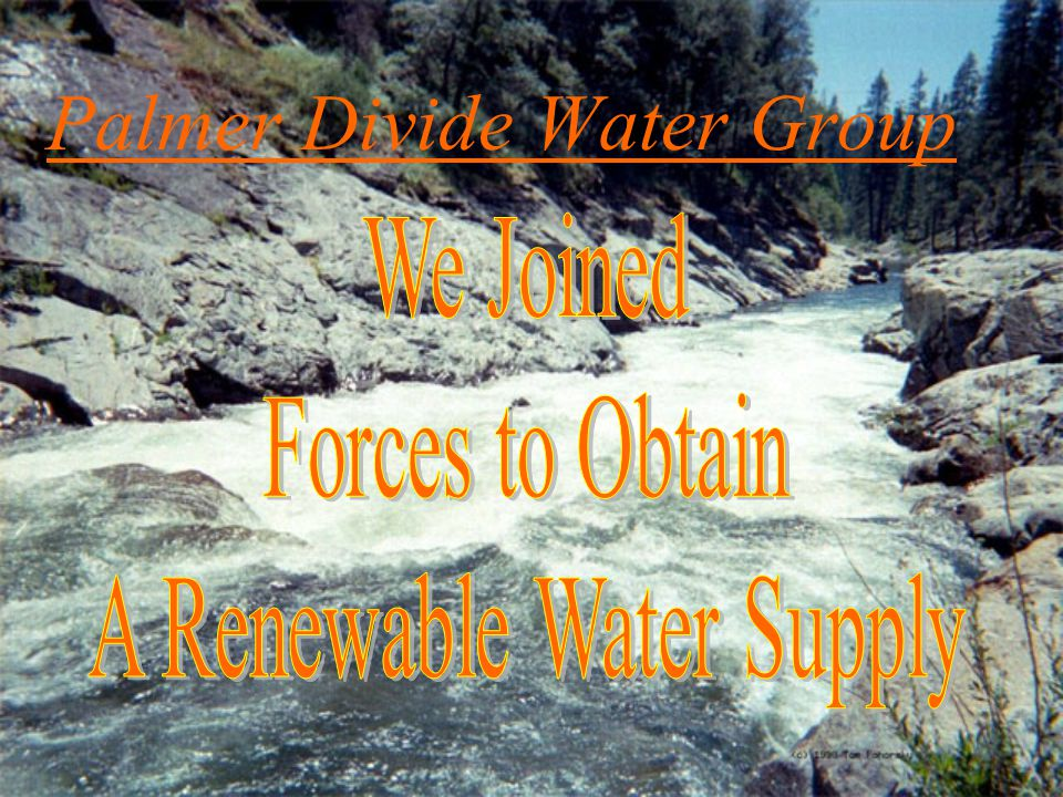 Palmer Divide Water Group