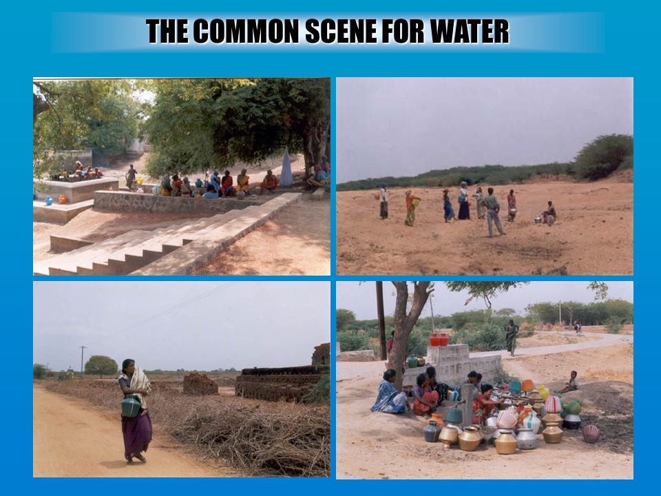 THE COMMON SCENE FOR WATER