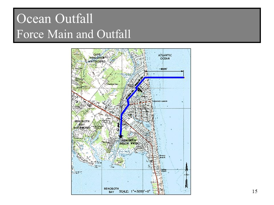 Ocean Outfall Force Main and Outfall 15