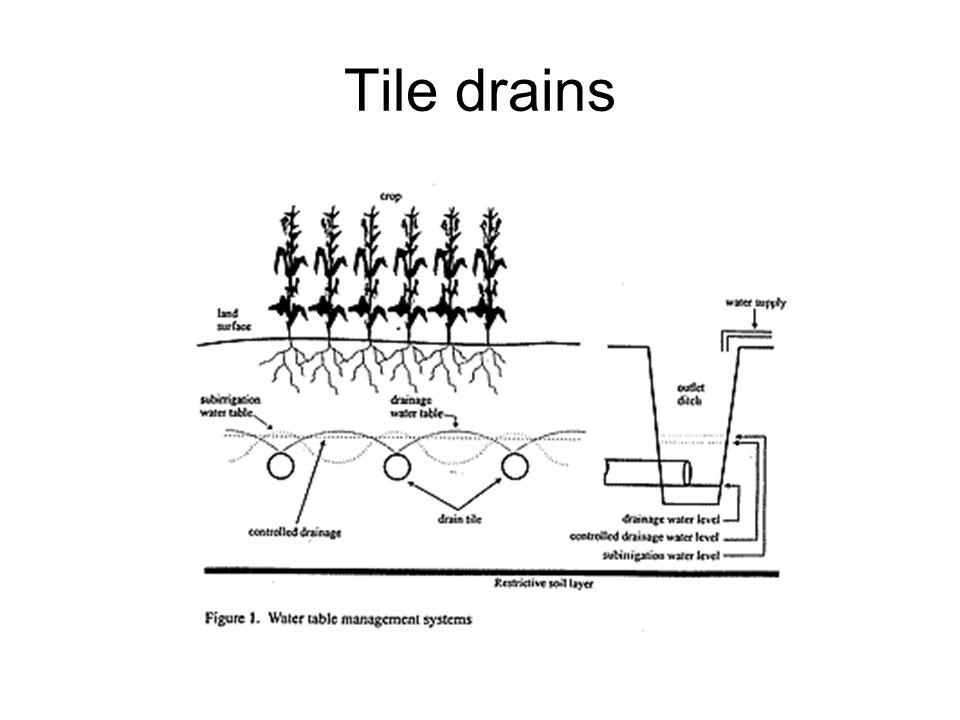 Tile drains