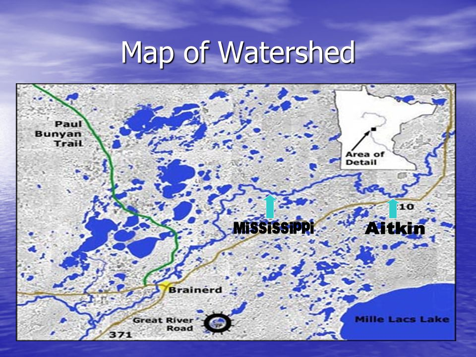 Map of Watershed