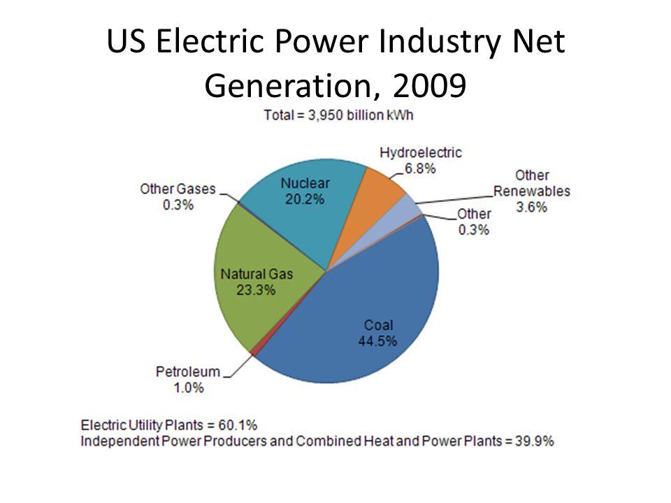 US Electric Power Industry Net Generation, 2009