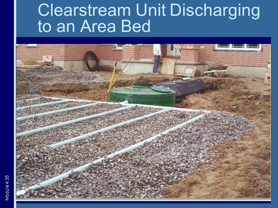 Clearstream Unit Discharging to an Area Bed Module 4:35
