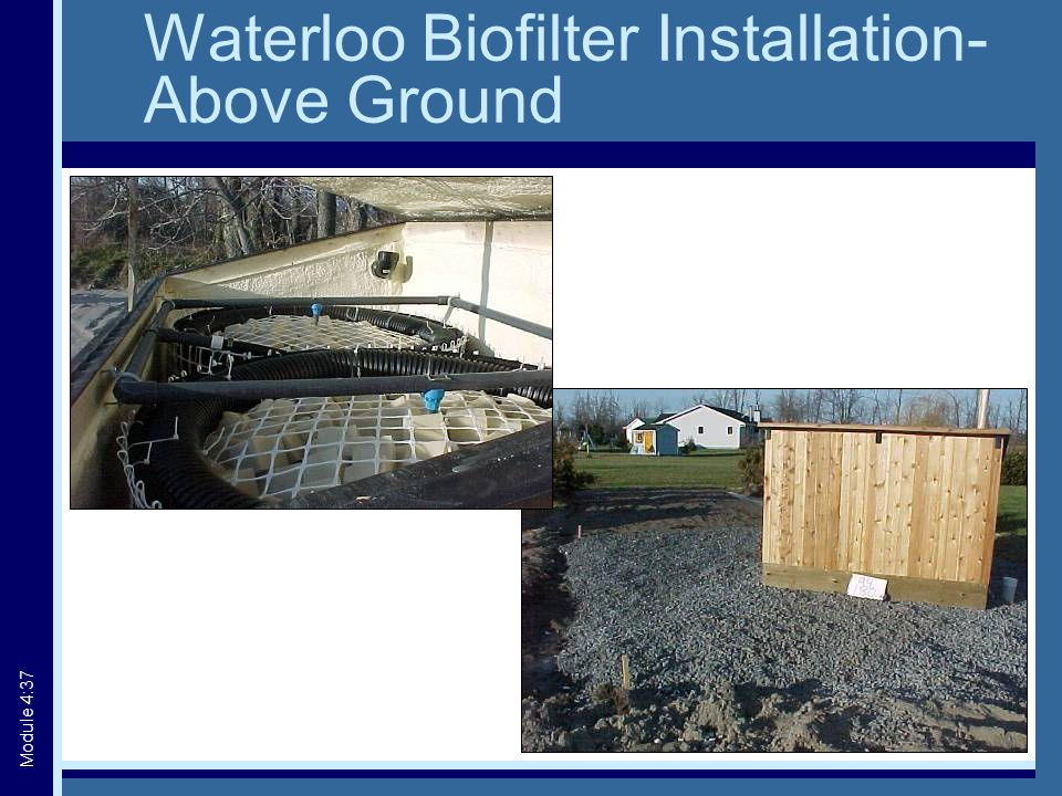 Waterloo Biofilter Installation- Above Ground Module 4:37