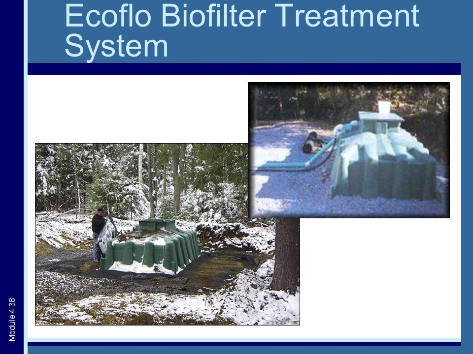Ecoflo Biofilter Treatment System Module 4:38