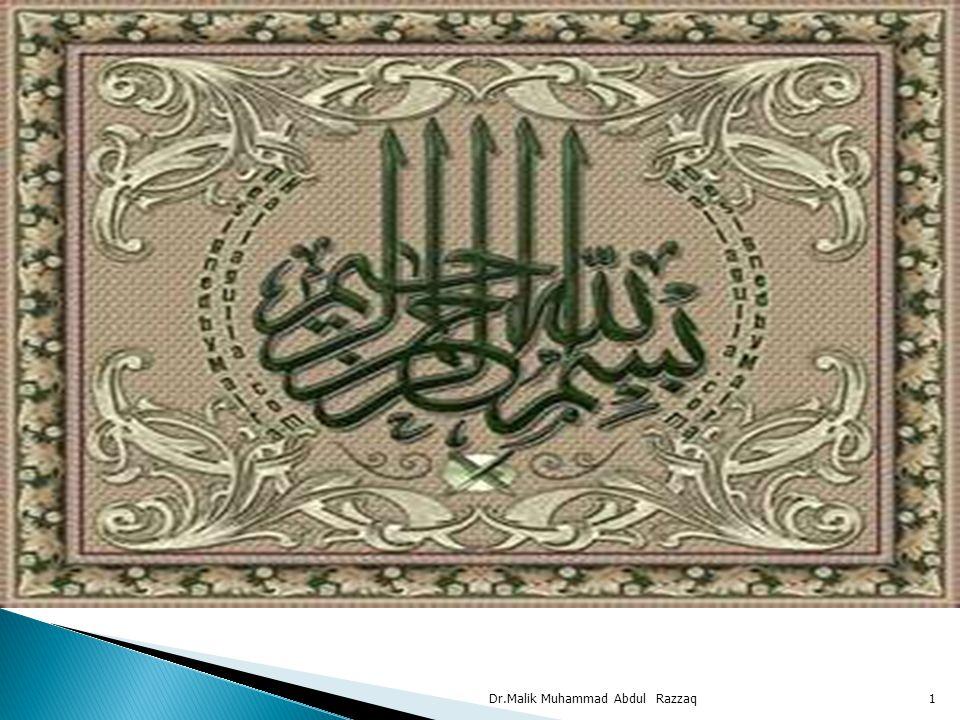 Dr.Malik Muhammad Abdul Razzaq1